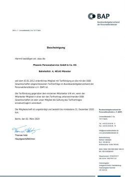 EB Mitgliedsbescheinigung OM TB-DGB 2020