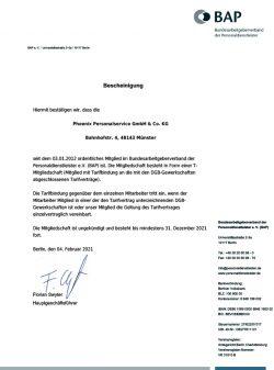 EB Mitgliedsbescheinigung OM TB-DGB 2021